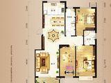 香槟小镇_3室2厅2卫 建面137平米