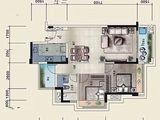 佳兆业时代可园_2室2厅1卫 建面89平米