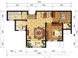 凯旋大道_2室2厅1卫 建面86平米