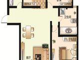 太阳城_3室2厅1卫 建面85平米