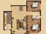 京南狮子城丁香园_2室2厅1卫 建面99平米