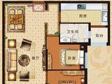 恒大翡翠华庭_2室2厅1卫 建面96平米