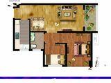 尚都后鸟巢_2室1厅1卫 建面69平米