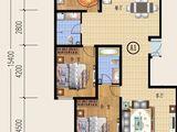 宁达盛世_3室2厅2卫 建面168平米