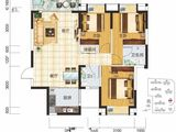 现代美居_3室2厅2卫 建面97平米
