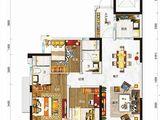 碧桂园太阳城_3室2厅2卫 建面97平米