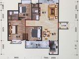 利嘉皇庭_3室2厅2卫 建面111平米