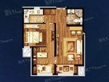 温泉新都孔雀城_2室1厅1卫 建面60平米
