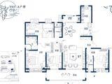 碧桂园西湖_5室2厅3卫 建面231平米