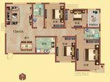 祝福红城_4室2厅2卫 建面138平米