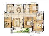 新城玺樾门第_4室2厅2卫 建面122平米