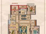中梁国宾壹号_4室2厅2卫 建面133平米