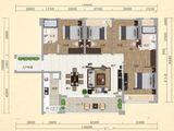 大福名城_4室2厅2卫 建面117平米