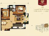学府清华_2室2厅1卫 建面87平米