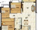 韶关恒大城_3室2厅1卫 建面95平米