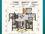 曲江丽景嘉园_3室2厅2卫 建面110平米