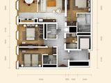 万国城moma_3室2厅3卫 建面190平米