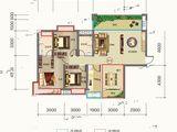金钟美墅湾_4室2厅2卫 建面126平米