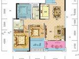 长旭时光印象_3室2厅2卫 建面99平米