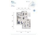 远洋蔚蓝海岸_3室2厅2卫 建面97平米